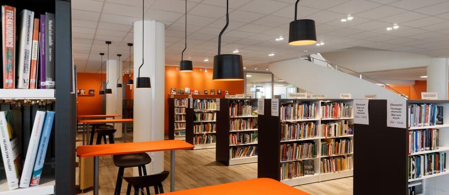 Bibliotek Täby Centrum