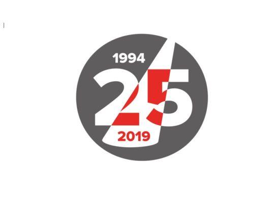 Vi firar 25 år